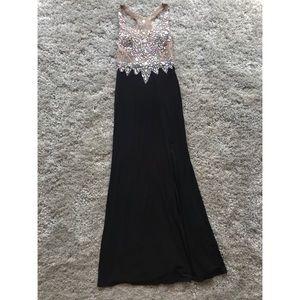 Beaded Prom Dress